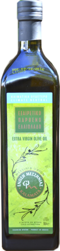Extra Virgin Olivenöl Messinia
