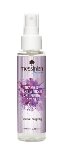 Detox Dry Oil - Duftöl Orange-Vanille-Orchidee-Blaubeere | 100 ml